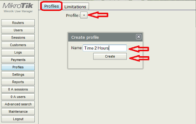 user manager - profiles voucher