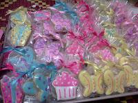 Fancy cookies untuk majlis hari jadi