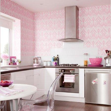 Decora Con Papel Tapiz Tu Cocina Kitchen Design Luxury Homes