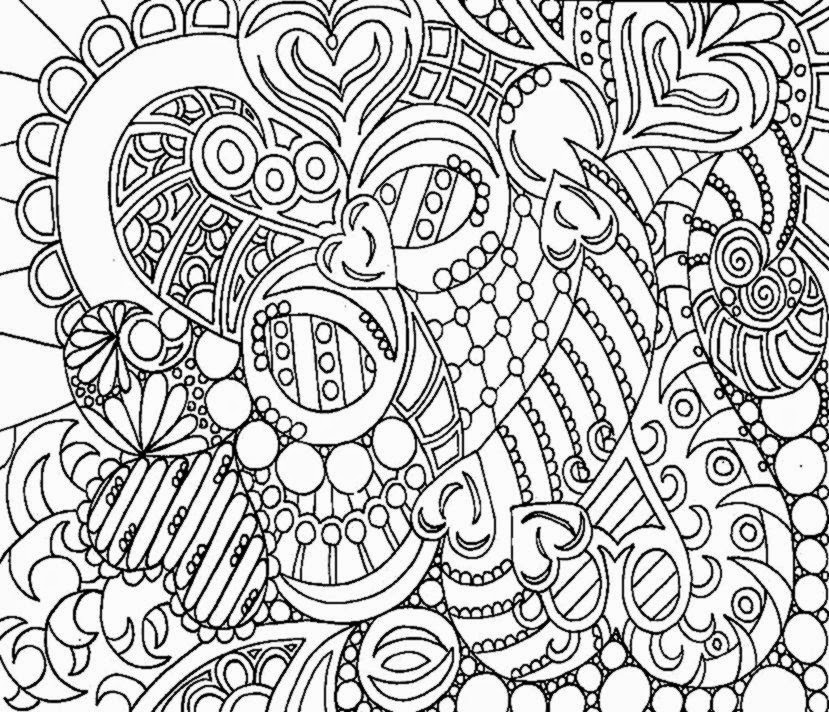 Coloring pictures for adults free coloring pictures Geometric coloring books for adults