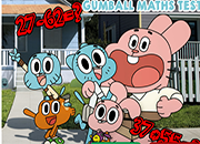 Gumball en test de matematica