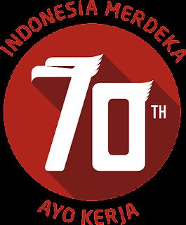 Logo Resmi HUT Ke-70 RI versi Baru 2015