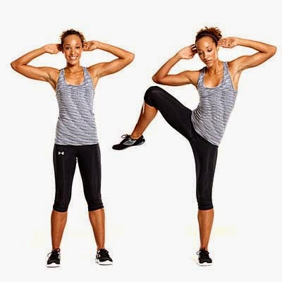 5 Szybkich I Skutecznych ćwiczeń Na Płaski Brzuch Standing Side