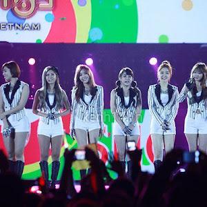 Foto Penampilan T-ara di MBC Kpop Festival 2012 in Vietnam