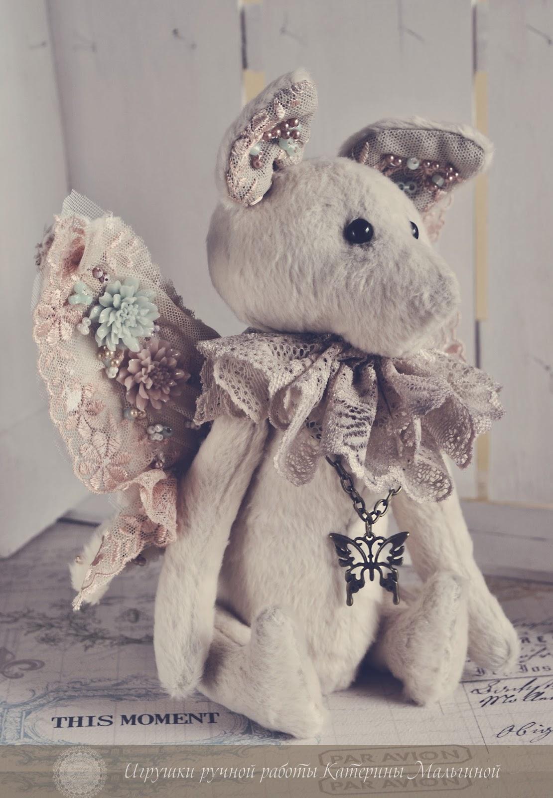 Мышка с крылышками