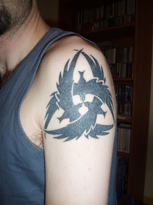 Crow Tattoo Design Picture gallery - Crow Tattoo Ideas