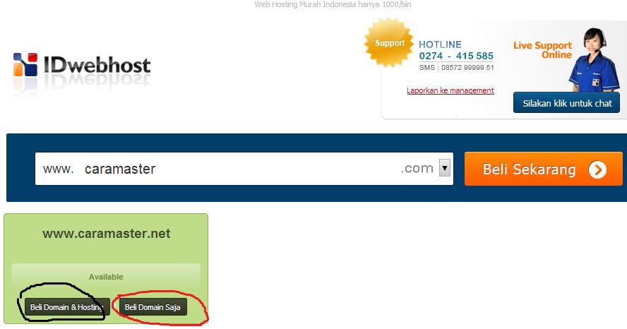 Cara Membuat Website .com Sendiri (Gratis Hosting+)