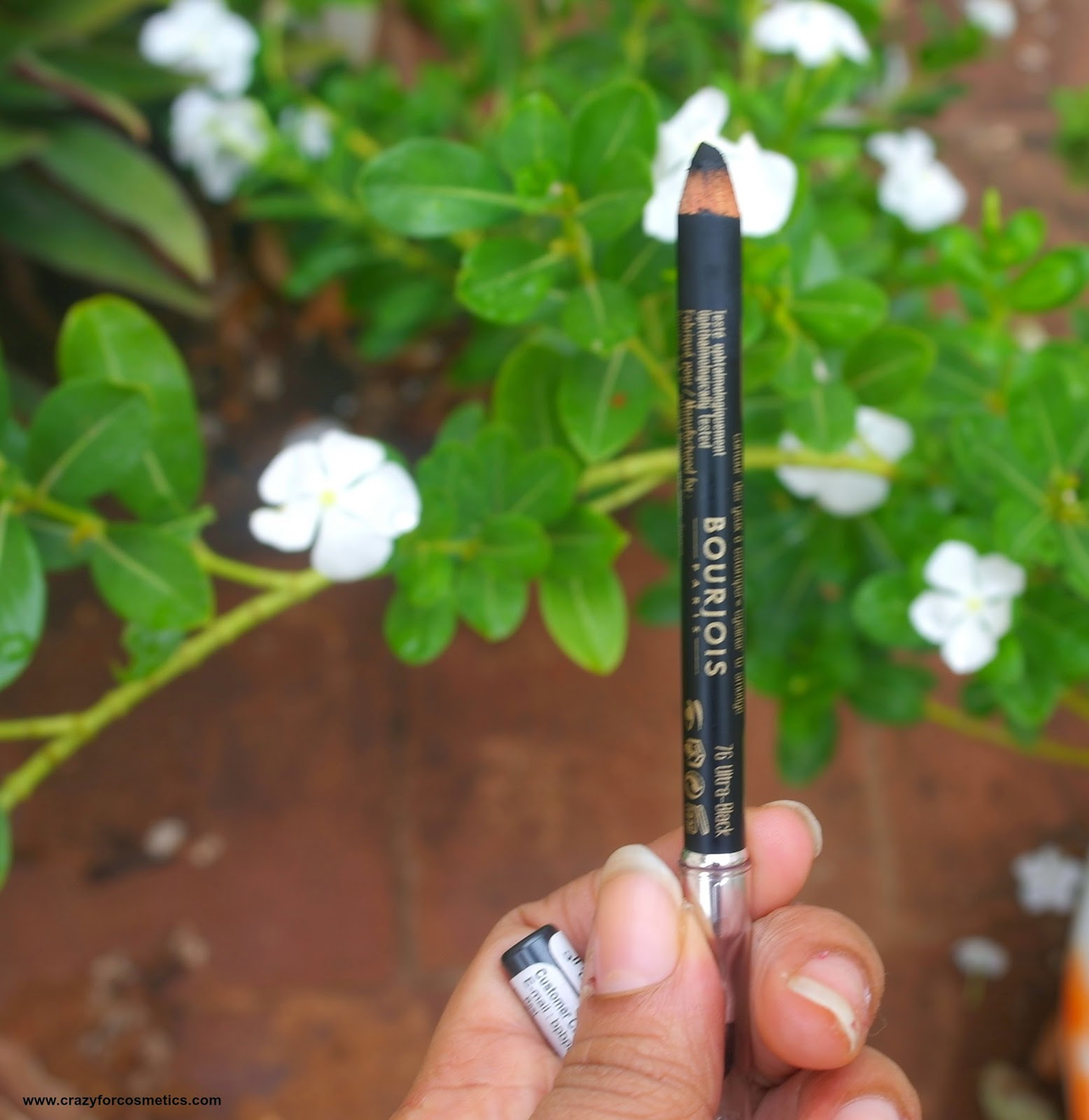 Bourjois paris Khol pencil review swatch
