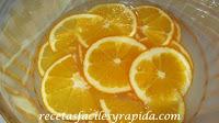 como confitar naranjas