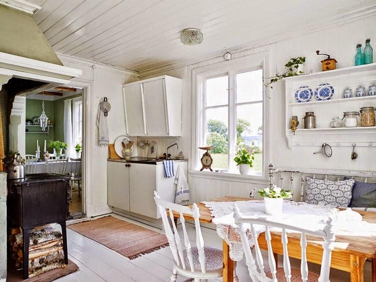 De casi todo un poco mas una casa de campo entre lo rustico y lo nordico - Casa y campo decoracion ...