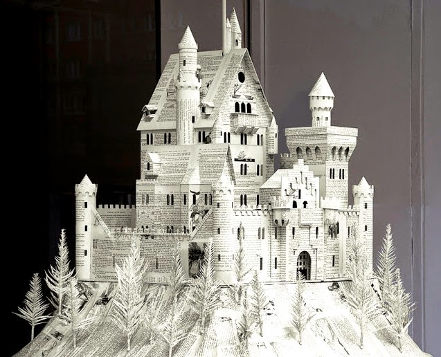 Art Now and Then: Paper Sculpture