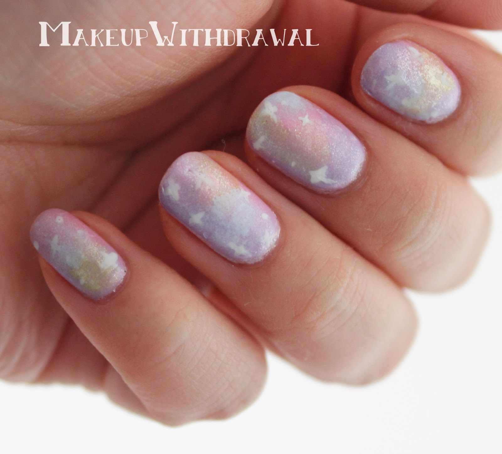 Pastel Galaxy Nails with Zoya Lovely Shades | Makeup Withdrawal