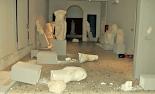 Αρκετά αρχαία γλυπτά στο Αρχαιολογικό Μουσείο της Κω σωριάστηκαν στο έδαφος και έσπασαν, εξαιτίας του πρόσφατου σεισμού που σημειώθηκε ανάμ...