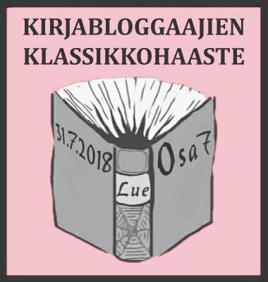 Kirjabloggaajien 7. klassikkohaaste heinäkuun lopussa