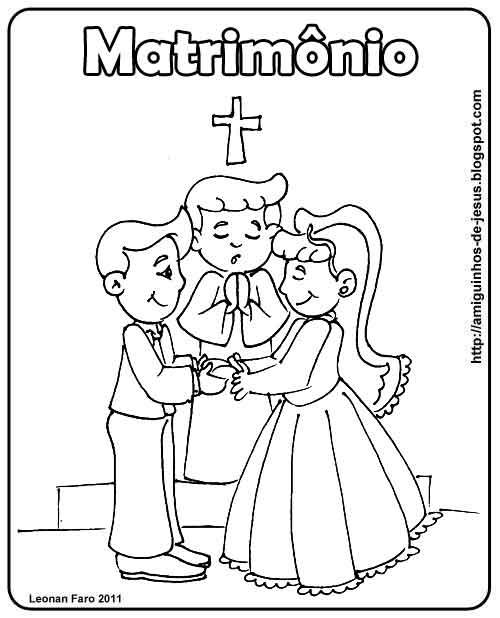 Sacramento Do Matrimonio Na Bíblia : Cantinho da catequese com jesus sacramentos