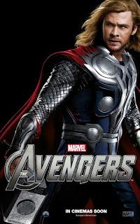 Chris Hemsworth Avengers-posterAU006-640x1024