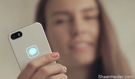 Lunecase - An Amazing iPhone Case that Glows for Incoming Notifications