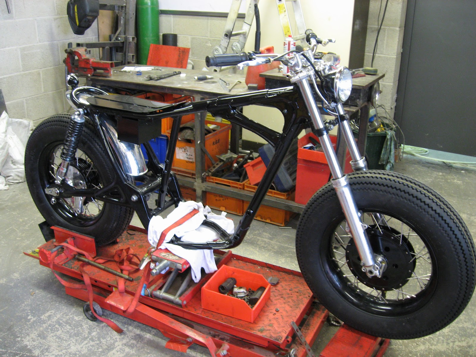 The Honda Cb450 Brat On Its Way Now