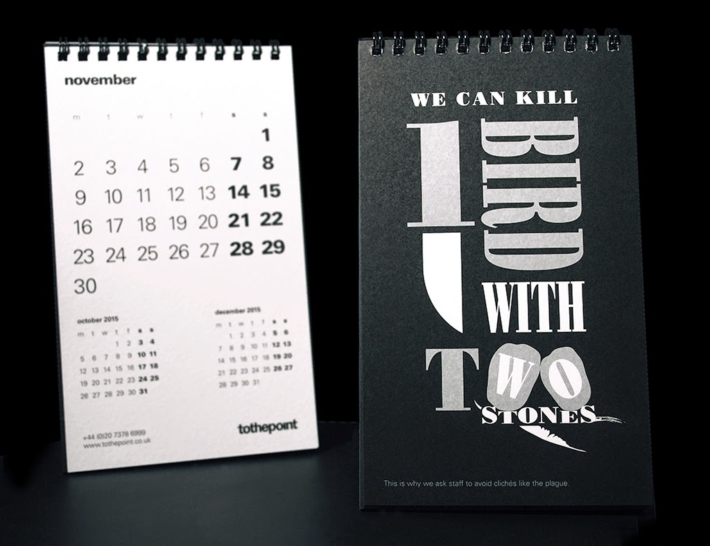 Calendar Design Quote : To the point the quote bank aka our calendar