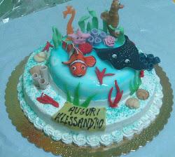 Torta Pesciolino Nemo