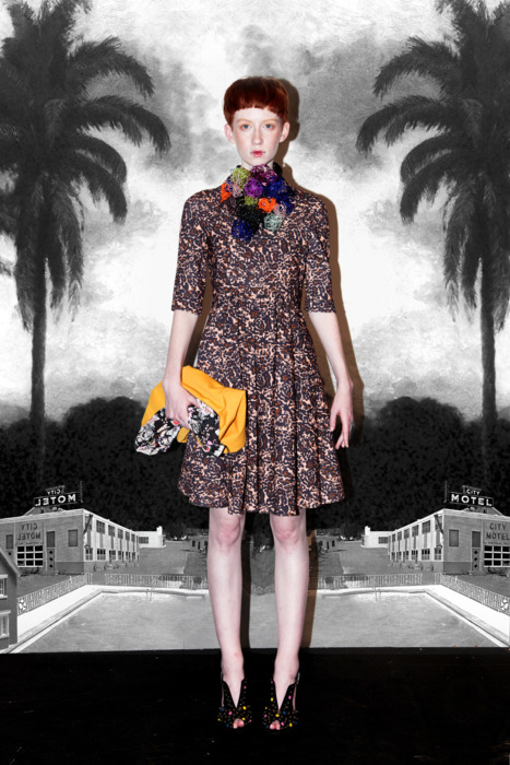 leitmotiv, amanda marzolini, fashion blogger,  the fashionamy, amazonas, furla, animal prints, floral prints, moscow, talent hube