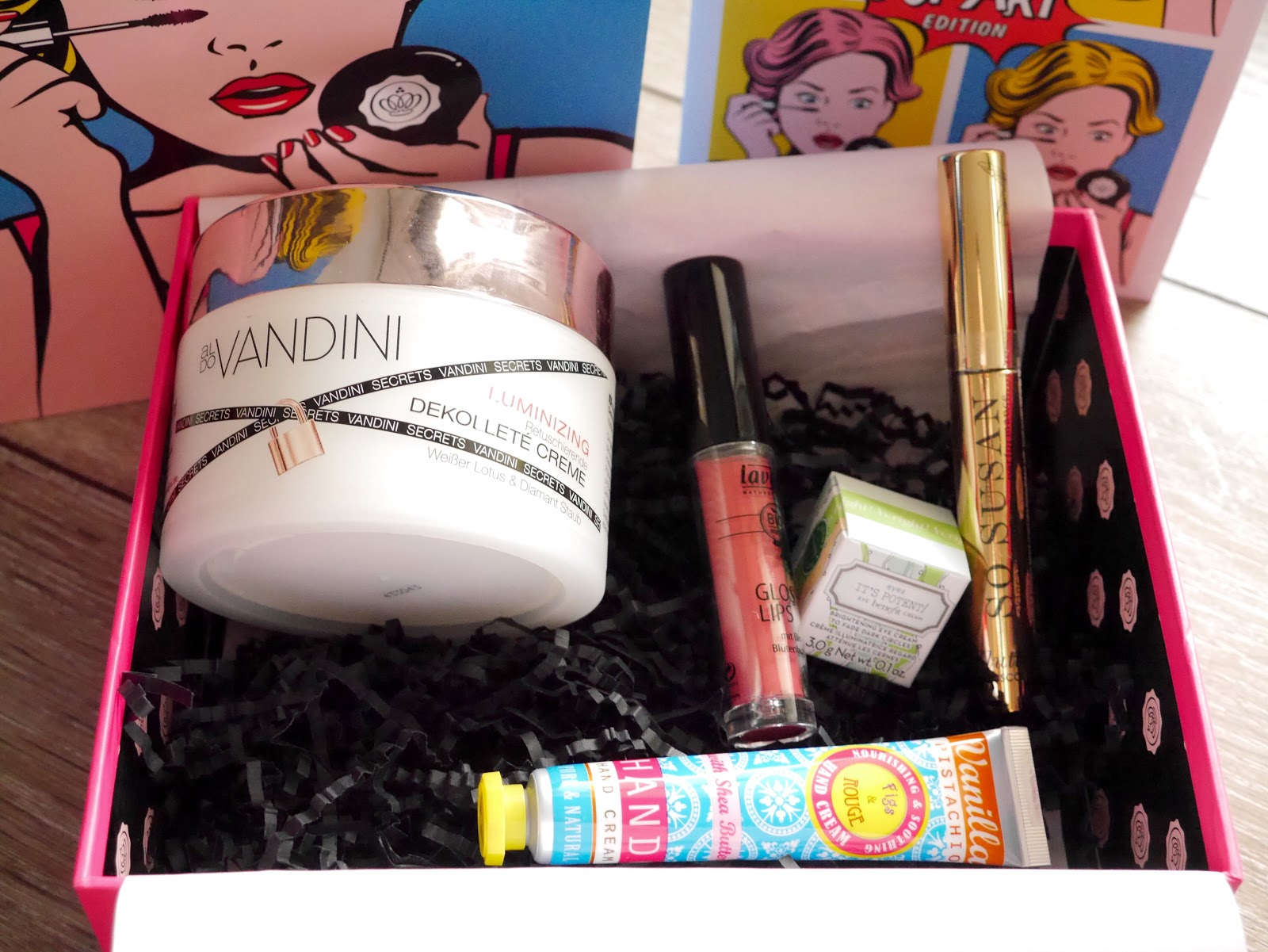 Glossybox Germany, Glossybox Deutchland, Glossybox Pop Art Edition