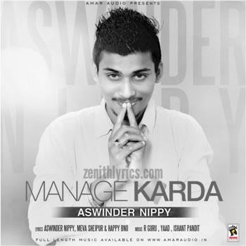Manage Karda - Ashwinder Nippy