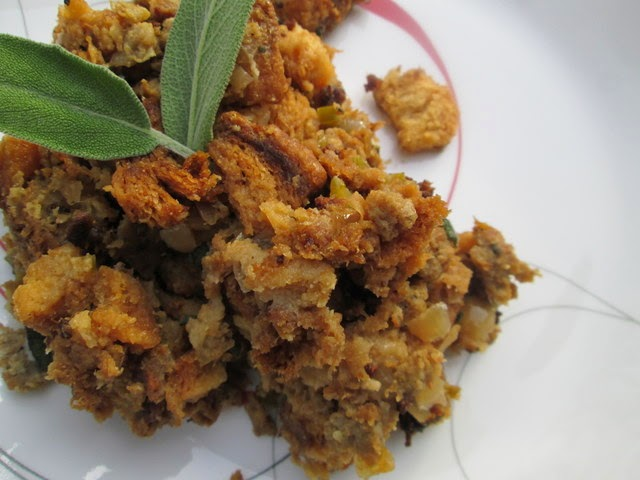 Sausage, Apple and Sage Stuffing