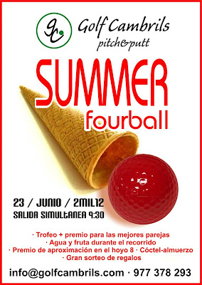 Summer Fourball al Pitch & Putt Cambrils