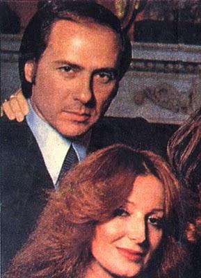 Fotografia di Silvio Berlusconi e Carla Elvira Lucia Dall'Oglio