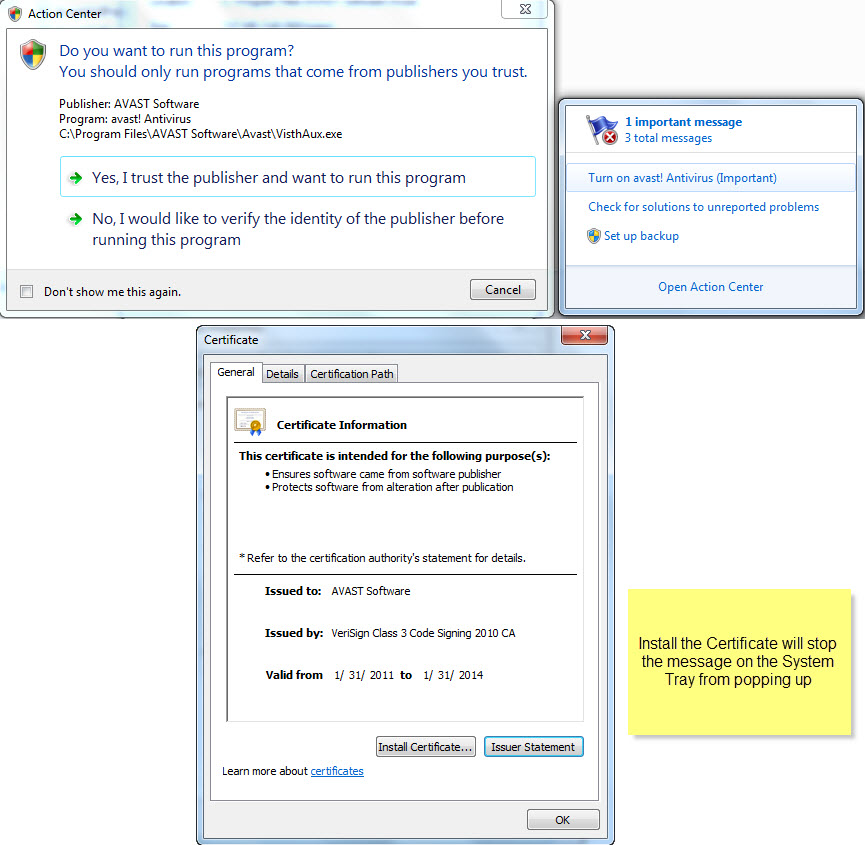 Install Avast Pro Antivirus