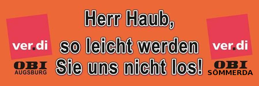 Solidarität mit Sömmerda und Augsburg