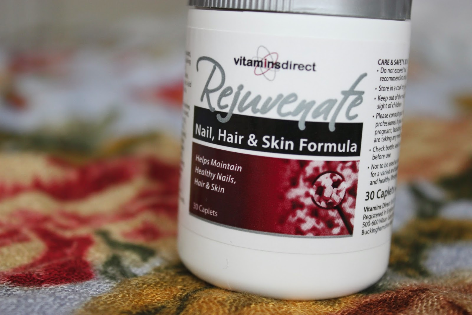 Picture of Vitamins Direct Rejuvenate Nail, Hair & Skin Formula