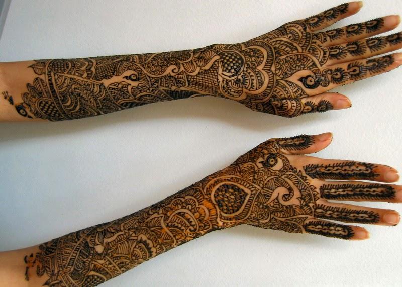 Mehndi Hands Girls : Mehndi designs for girls: very special indian dulhan