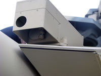 оптико-электронная система учета изгиба канала ствола.
