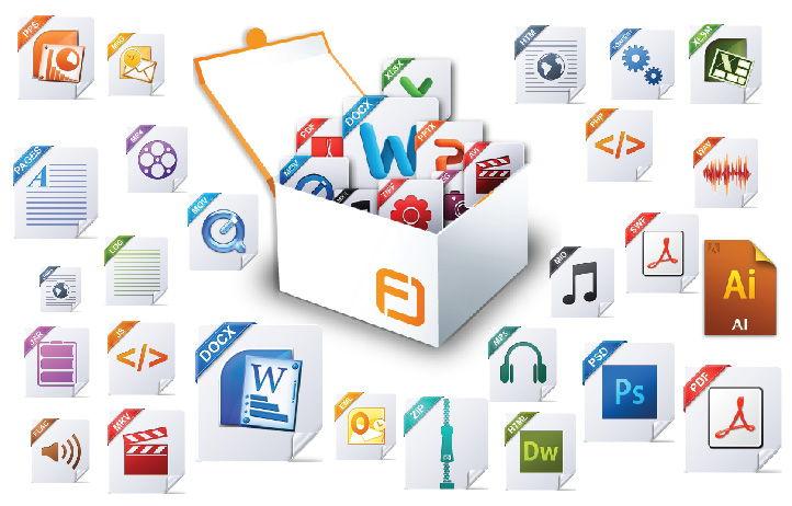 برنامج صغير لفتح العديد من أنواع الملفات كالصور والفيديو وملفات الأوفيس والـ PDF وغيرها Free opener