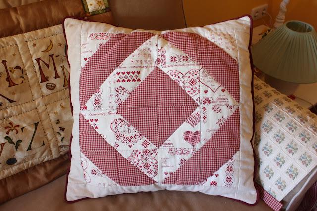 Mi hogar de patchwork cojines de patchwork - Cojines de patchwork ...