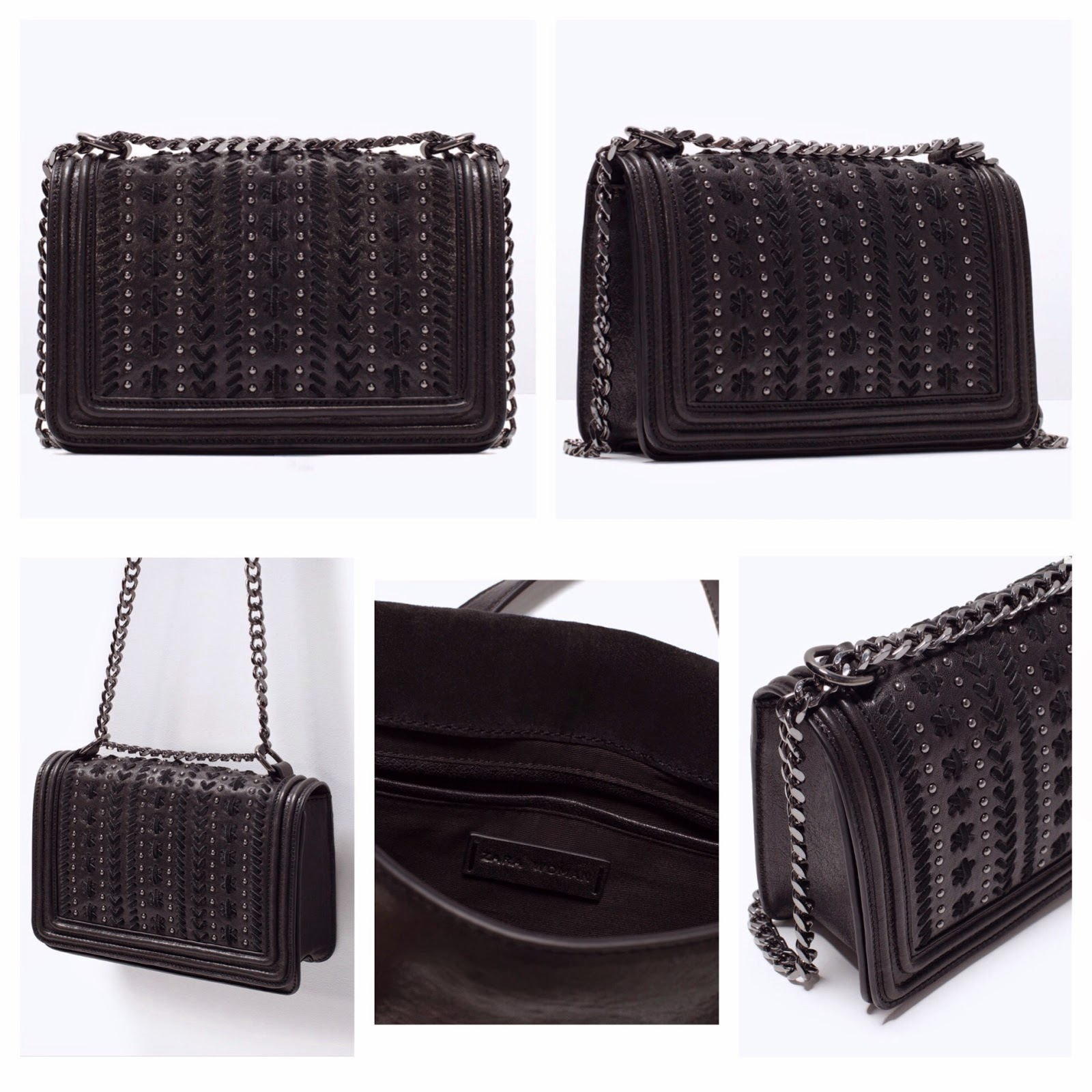 Zara Dupe Steal The Style Of Boy Chanel Handbag Double Strap Bag