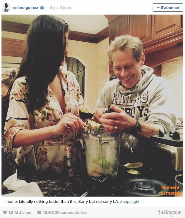 Selena Gomez est imparable dans Instagram!