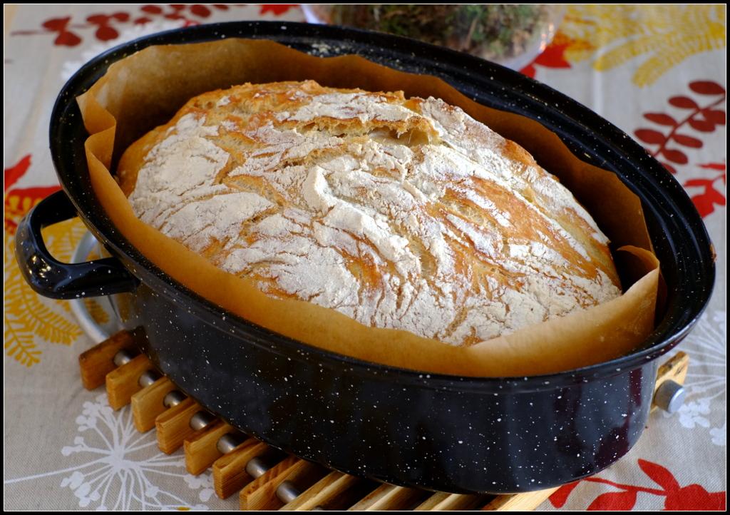 Schatz, Essen ist fertig!: No-knead bread - Brot ohne Kneten