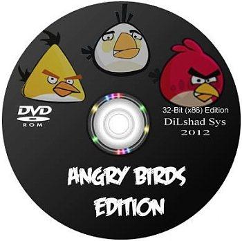Windows 7 Angry Birds Edition Sp1