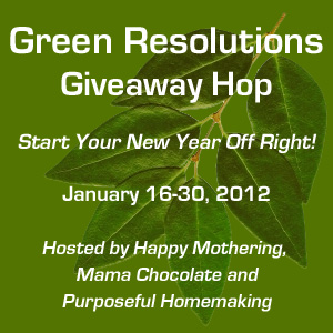 Green Resolution Giveaway Hop