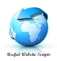 Useful Website Scripts