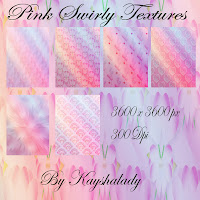 Pink swirly texture pack