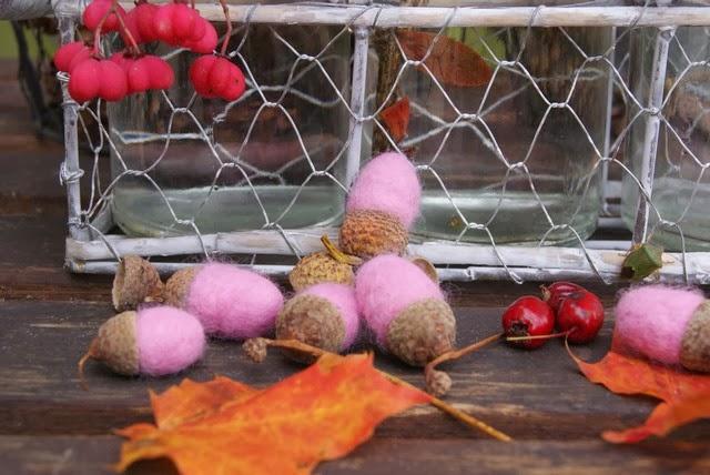 Filz und Garten Der nächste Adventskranz wird pink!