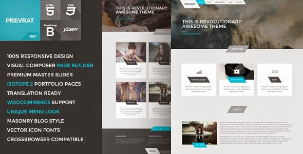 Best Creative Portfolio WP Theme 2015