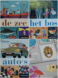 Alain Gree boeken books illustraties illustrations
