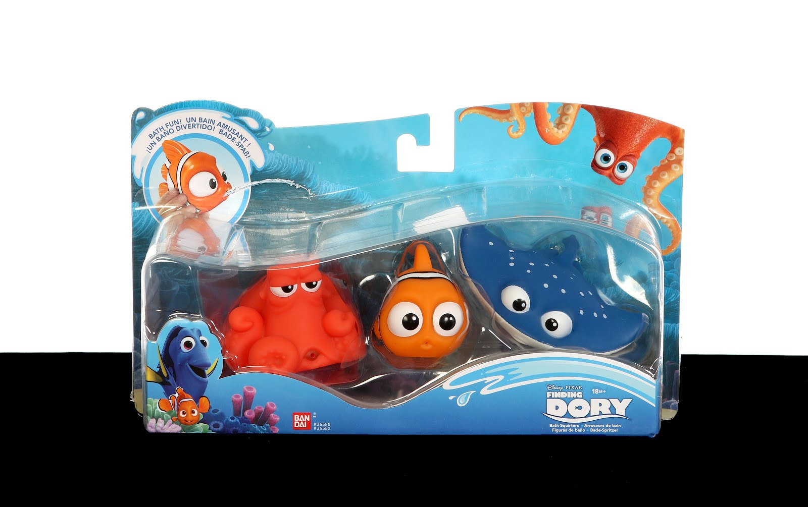 Finding nemo bathroom set
