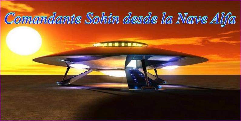 Comandante Sohin desde Nave Alfa
