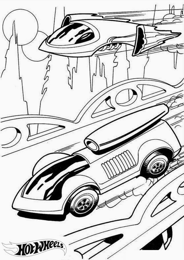 Hot Wheels Coloring Pages 41